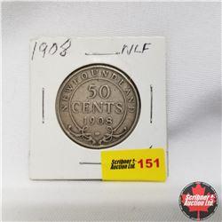 1908 Newfoundland 50¢ Silver