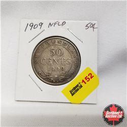 1909 Newfoundland 50¢ Silver