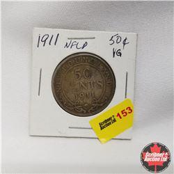 1911 Newfoundland 50¢ Silver