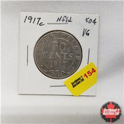 1917c Newfoundland 50¢ Silver