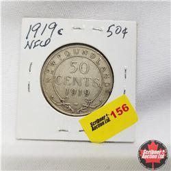 1919c Newfoundland 50¢ Silver