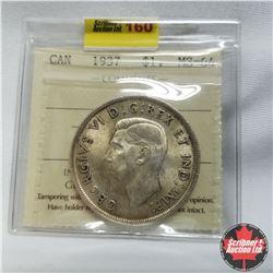 1937 Canada Silver Dollar  ICCS MS-64