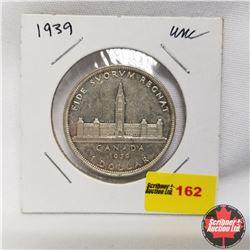 1939 Canada Silver Dollar UNC
