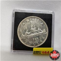 1946 Canada Silver Dollar SWL in Quadrum