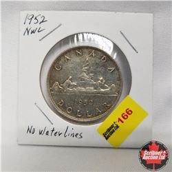 1952 Canada Silver Dollar NWL