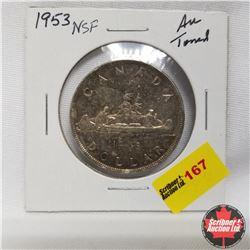 1953 Canada Silver Dollar NSF