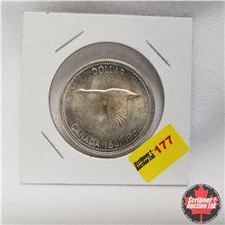 1967 Canada Silver Dollar UNC