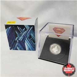 2013 Canada $10 Fine Silver Coin, 75th Anniversary of Superman