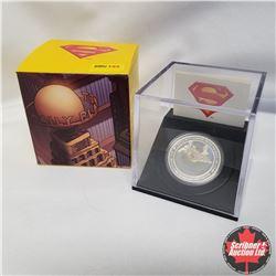 2013 Canada $20 Fine Silver Coin, 75th Anniversary of Superman