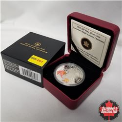 "2013 Canada $20 Fine Silver Coin ""Canadian Maple Canopy"" (Autumn)"