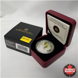 """2013 Canada $20 Fine Silver Coin """"Canadian Maple Canopy"""" (Spring)"""