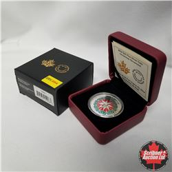 "2014 Canada $25 Fine Silver Coin ""Christmas Ornament"""