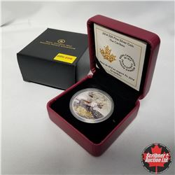 "2014 Canada $20 Fine Silver Coin ""The Caribou"""