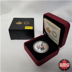 "2014 Canada $10 Fine Silver Coin ""Harlequin Duck"""