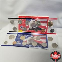 2003 USA Mint UNC 2 Sets (D & P Mint Marks)