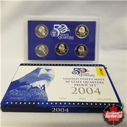 2004 USA Mint Proof Set, State quarters