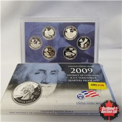 2009 USA Mint Proof Set, District of Columbia & U.S. Territories Quarters