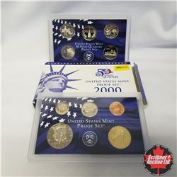 2000 USA Mint Proof Set