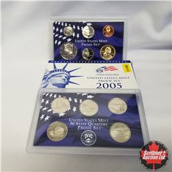 2005 USA Mint Proof Set