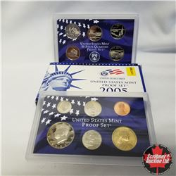 2005 USA Mint Proof Set