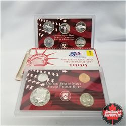 1999 USA Silver Proof Mint Set (90% Silver)