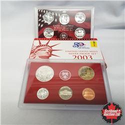 2003 USA Silver Proof Mint Set (90% Silver)