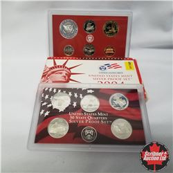2004 USA Silver Proof Mint Set (90% Silver)