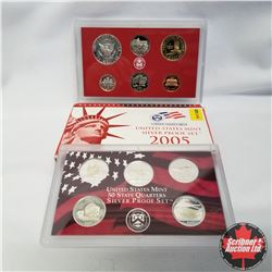 2005 USA Silver Proof Mint Set (90% Silver)