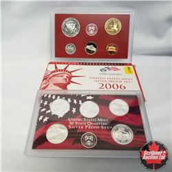 2006 USA Silver Proof Mint Set (90% Silver)