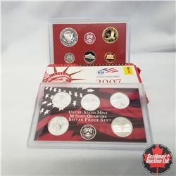 2007 USA Silver Proof Mint Set (90% Silver)