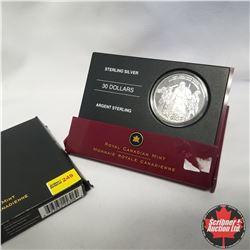"Canada 2006 Sterling Silver $30 Coin ""The Great Response - Canada's National War Memorial""  COA#931"