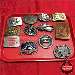 Belt Buckle Collection (Variety 12)