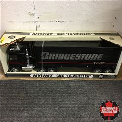 "Nylint Toy ""Bridgestone"" GMC 18 Wheeler"