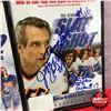 """Image 4 : """"Slapshot"""" Movie Collectors Grouping : VHS Copy (Autographed), Chiefs Hat (Autographed), Script w/CO"""