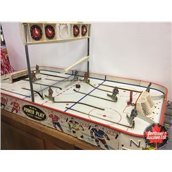 NHL Power Play Table Top Hockey Game (Canadiens vs Maple Leafs)