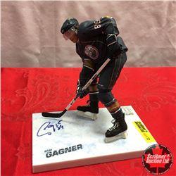 McFarlane Figurine - Autographed : Oilers #89 Sam Gagner