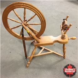 "Décor Spinning Wheel 36""H"