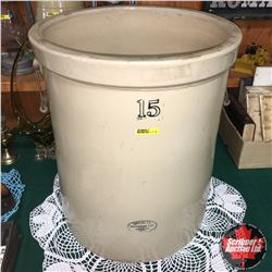 15 Gallon Medalta Crock