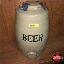 Beer Crockery Keg