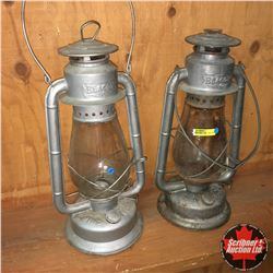 2 Beacon Barn Lanterns