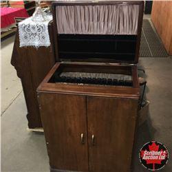 "Silverware Butler Cabinet (26""x37""x18"")"