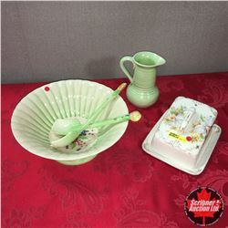 Cheesekeep, Salad Bowl/Utensils & Pitcher (Made In England)