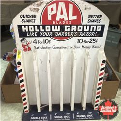 PAL Blades Counter Top Store Display Rack
