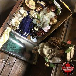 Porcelain Dolls (6) Variety