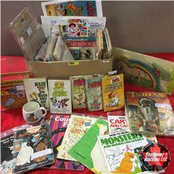 Box Lot: Children's Ephemera/Books - MUST LOOK!