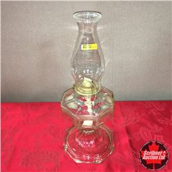 Clear Glass Coal Oil Lamp