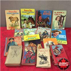 Western/Horse Theme Vintage Books