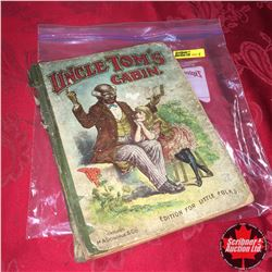 Vintage Book: Uncle Tom's Cabin - Edition for Little Folks