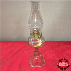 Queen Anne No. 2 Clear Base Coal Oil Lamp
