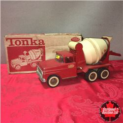 Toy Truck: Tonka Cement Truck (Red)